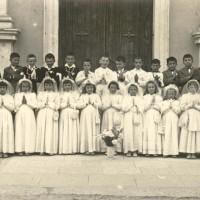 Classi 1947 e 1948 - La prima comunione.