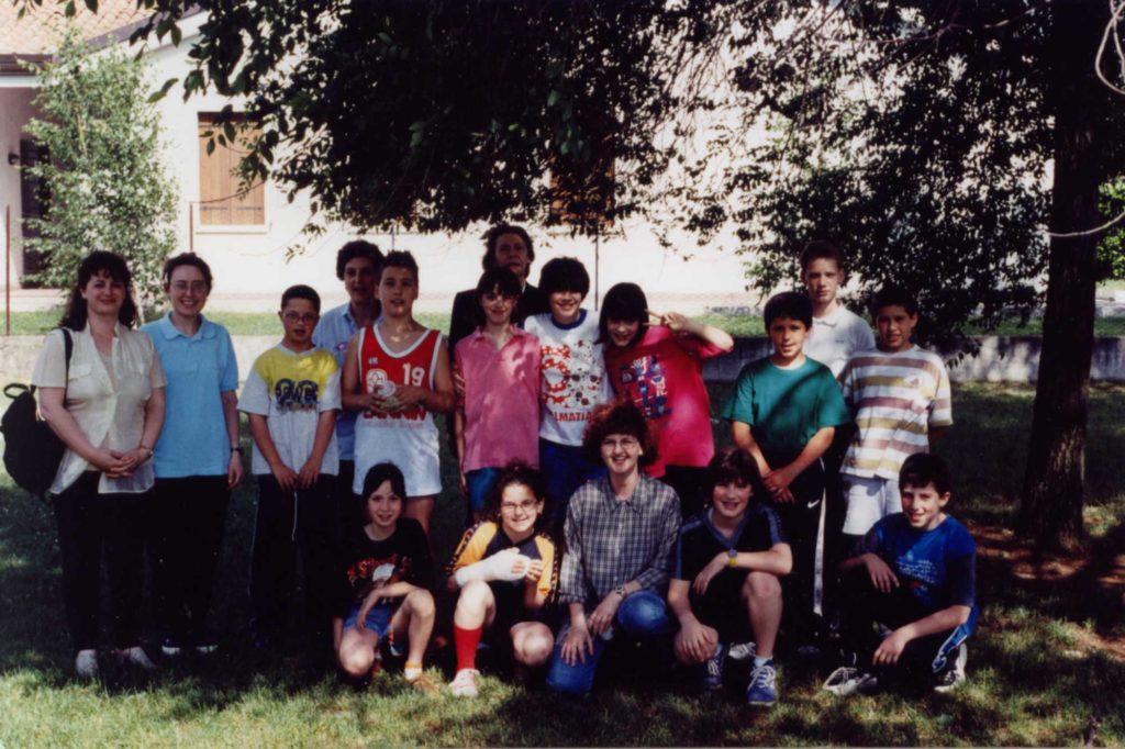 Foto Aurelio Foltran - Classe 1987 alle elementari