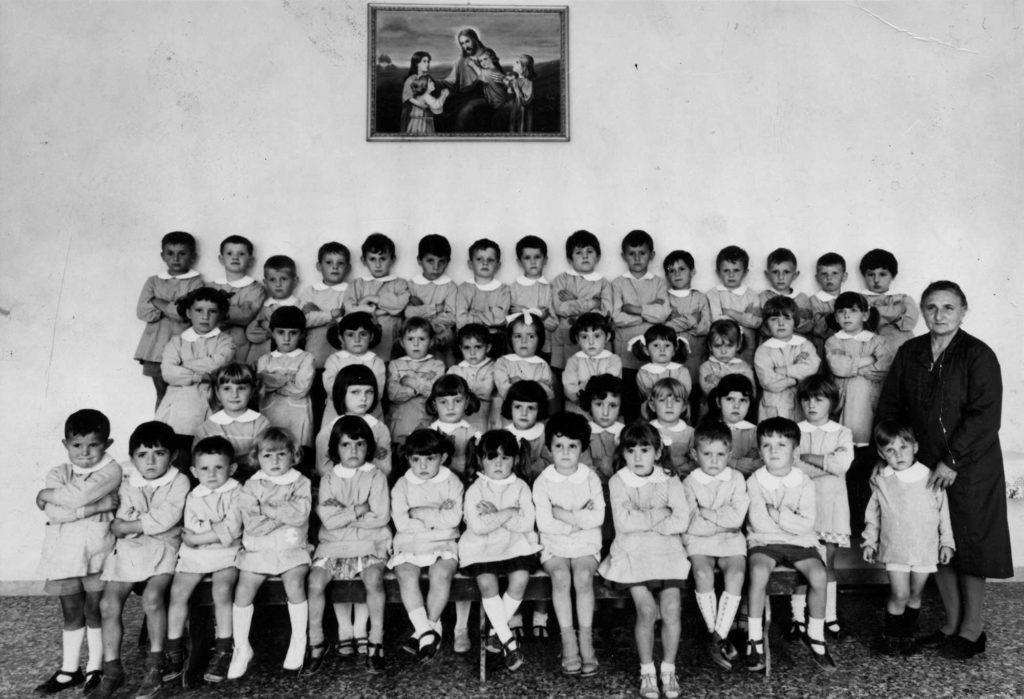 Foto Aurelio Foltran - Classe 1963, 1964 e 1965 all'asilo