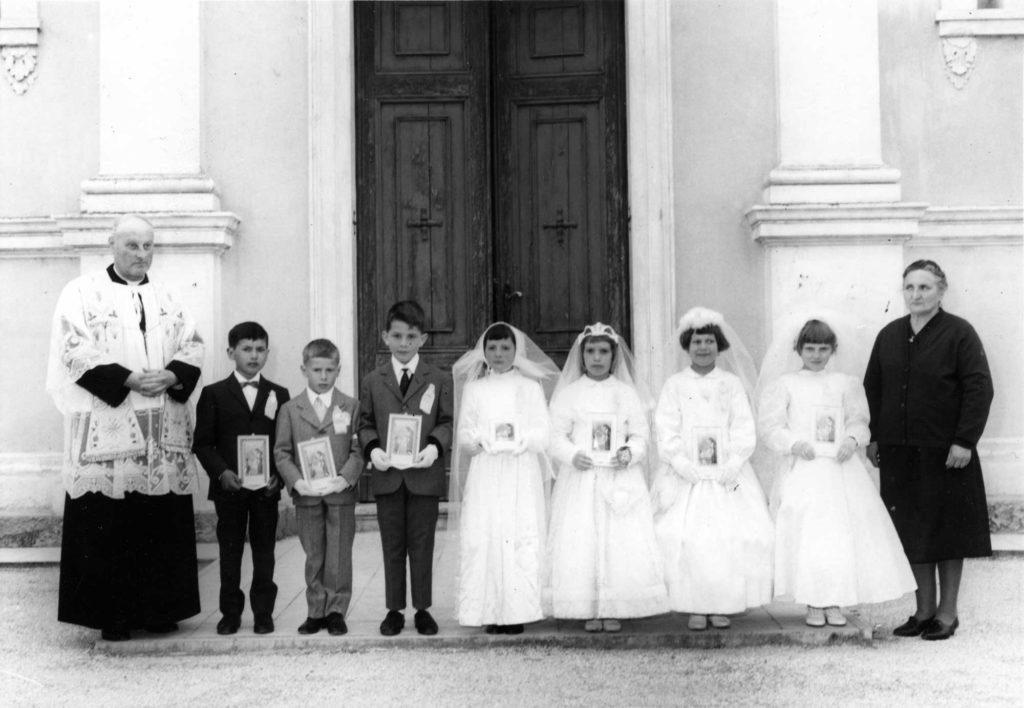 Foto Aurelio Foltran - Prima comunione della classe 1958