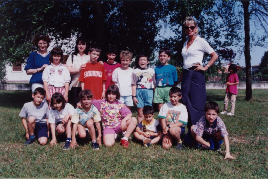 Foto Aurelio Foltran - Classe 1990 in seconda elementare