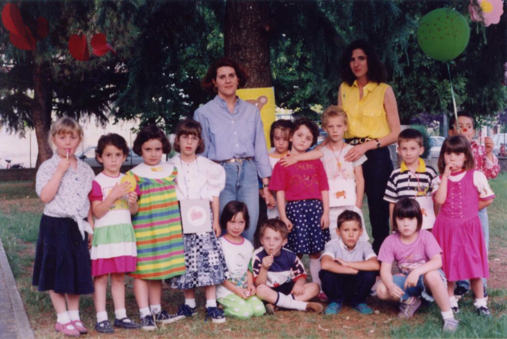 Foto Aurelio Foltran - Classe 1987 all'asilo