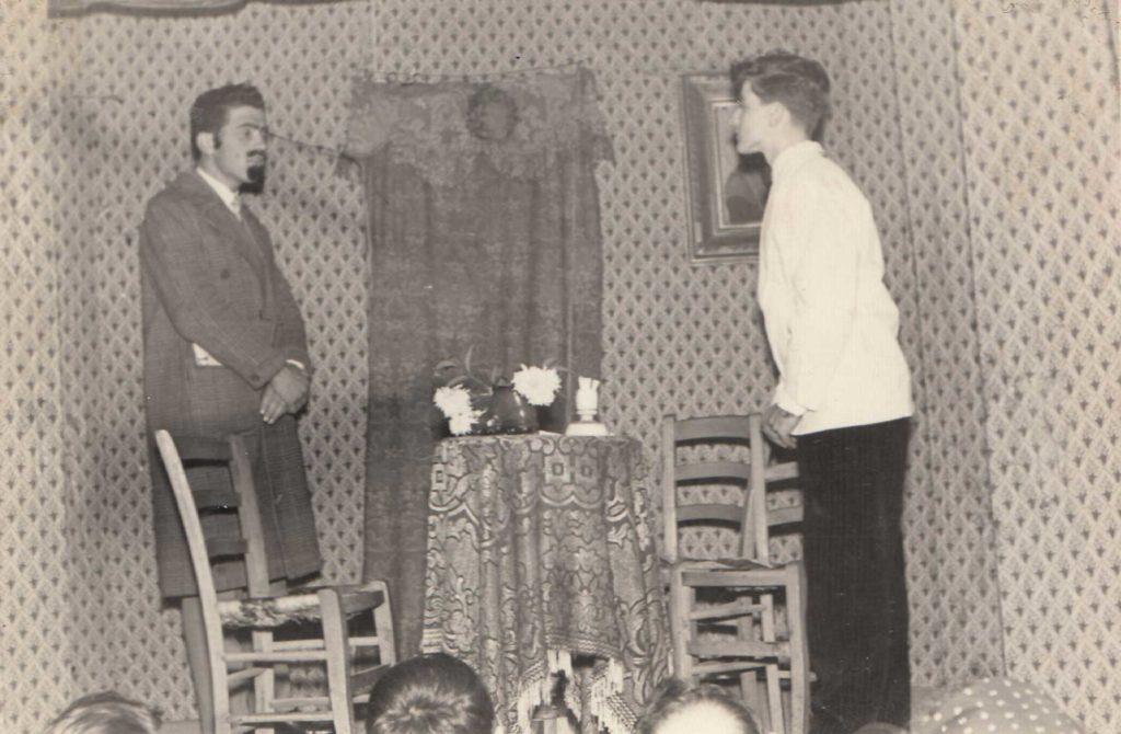 Foto Aurelio Martini - La compagnia teatrale di Barcon