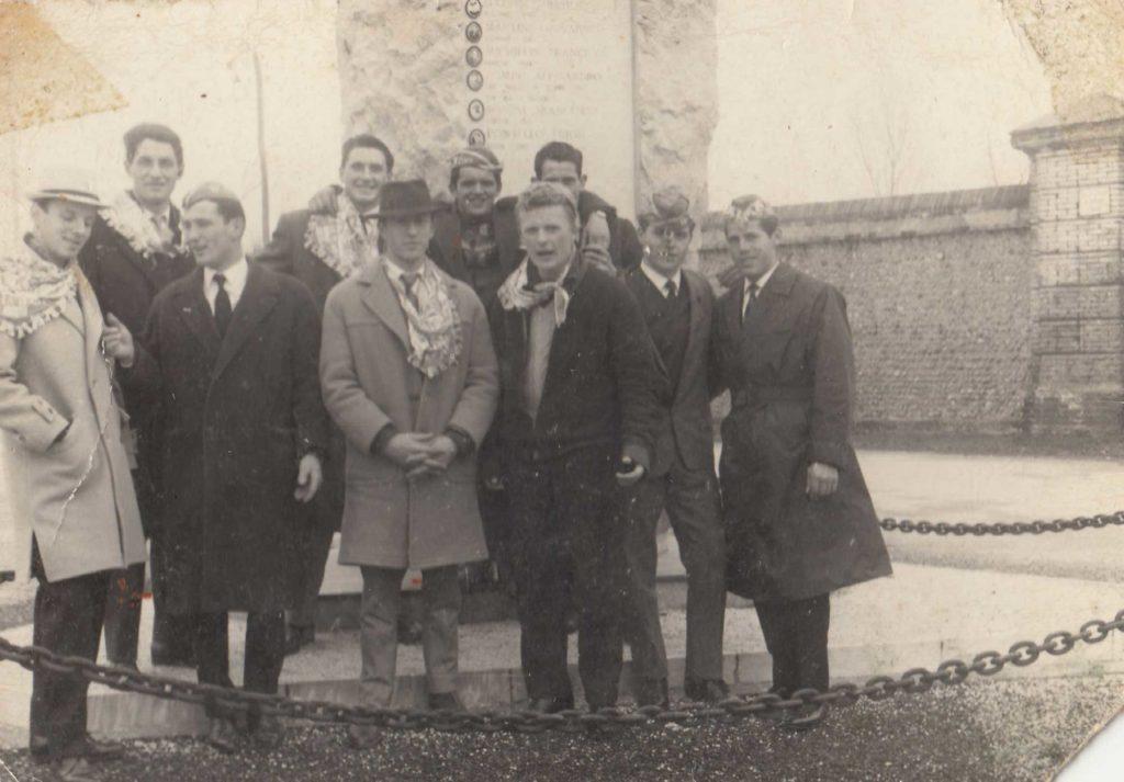 Foto Aurelio Martini - 1960: i coscritti del 1940