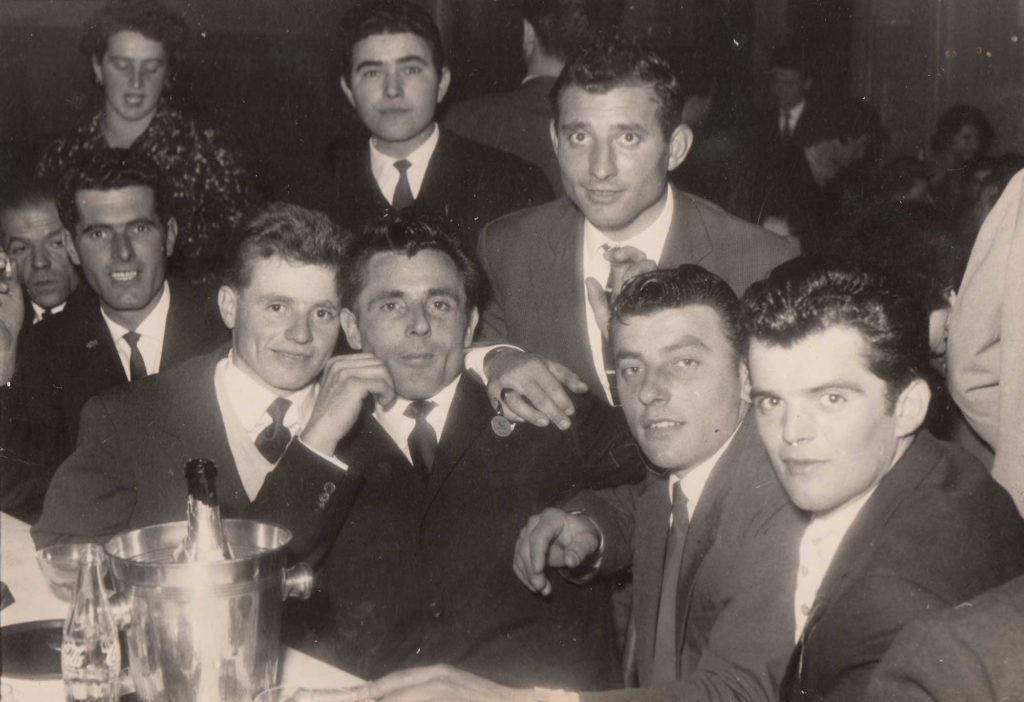 Foto Aurelio Martini - 1960: emigranti in Svizzera