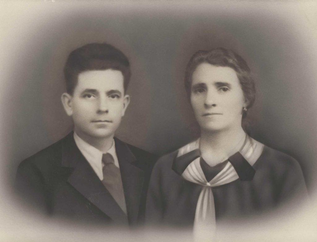 Foto Aurelio Martini - Giuseppe Martini e Giuseppina Pagnan