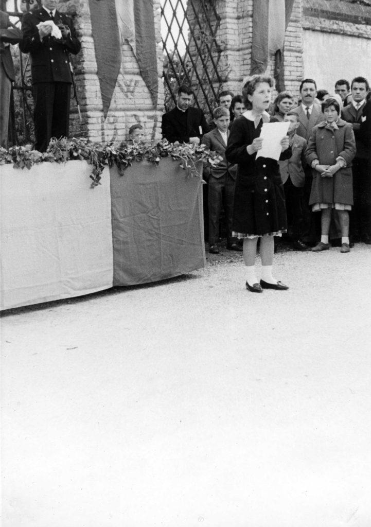 Archivio parrocchiale - Inaugurazione Monumento ai Caduti
