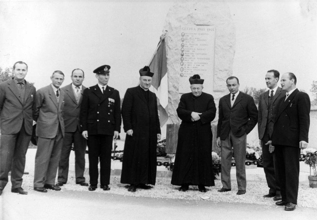 Inaugurazione Monumento ai Caduti