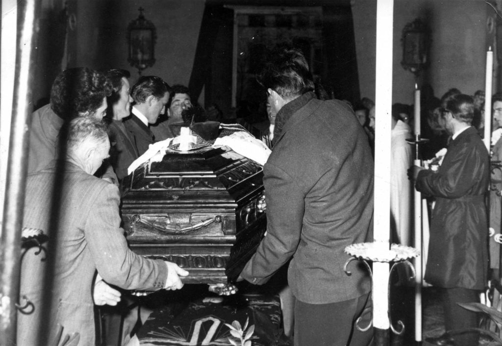 Archivio parrocchiale - Funerale Don Massimino Pellizzari