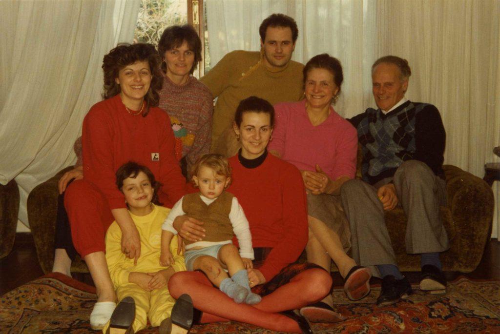 Foto Edda Quaggiotto - La famiglia di Tiziano Quaggiotto