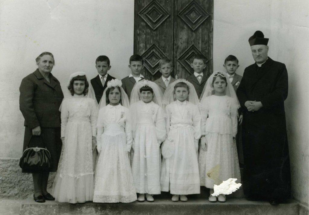 Foto Edda Quaggiotto - La prima Comunione della classe 1959