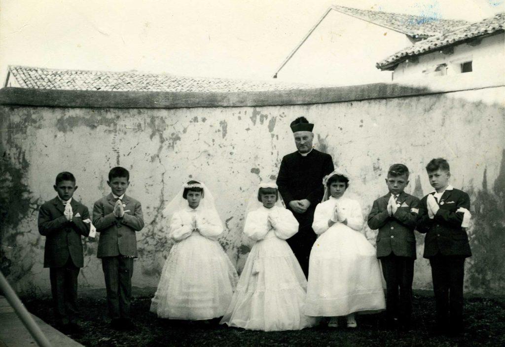 Foto Edda Quaggiotto - La prima comunione della classe 1956