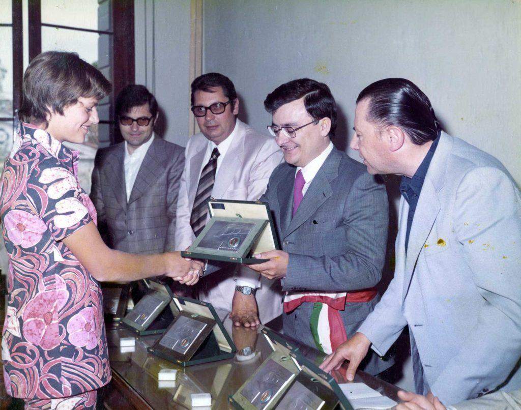 Foto Edda Quaggiotto - 1972: premiazioni a Vedelago