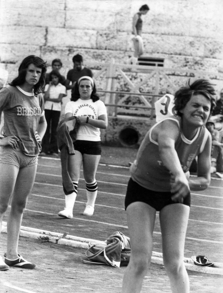 Foto Edda Quaggiotto - 1973: giochi della gioventù