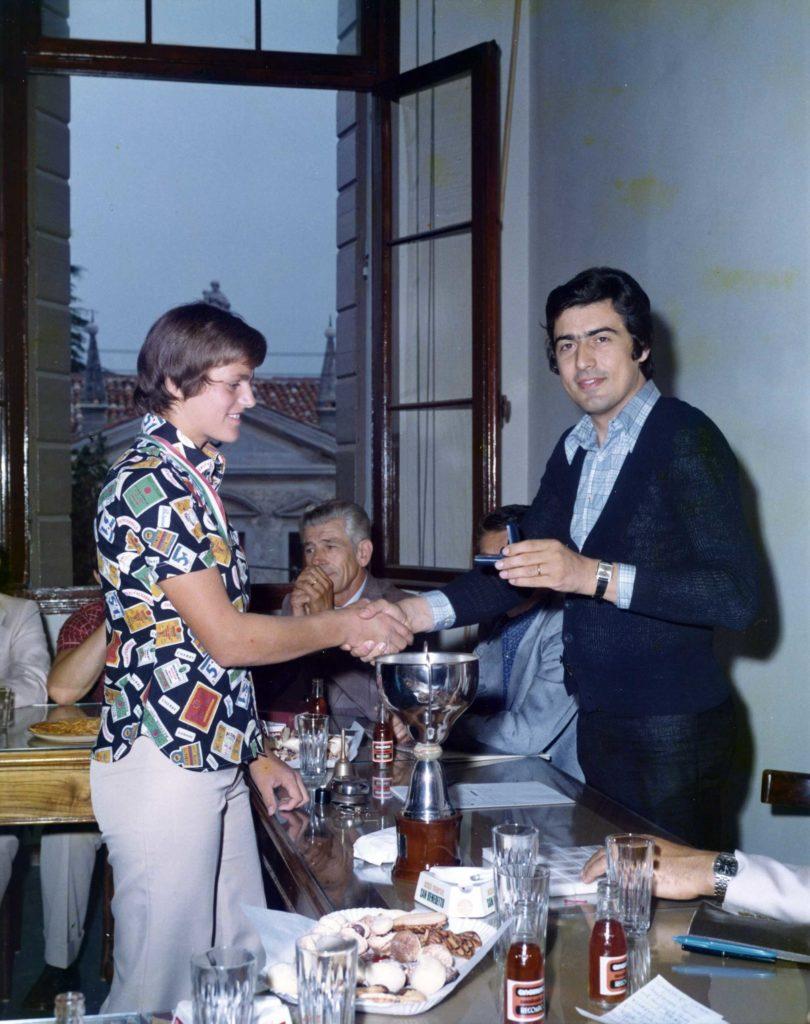 Foto Edda Quaggiotto - 1973: premiazioni a Vedelago