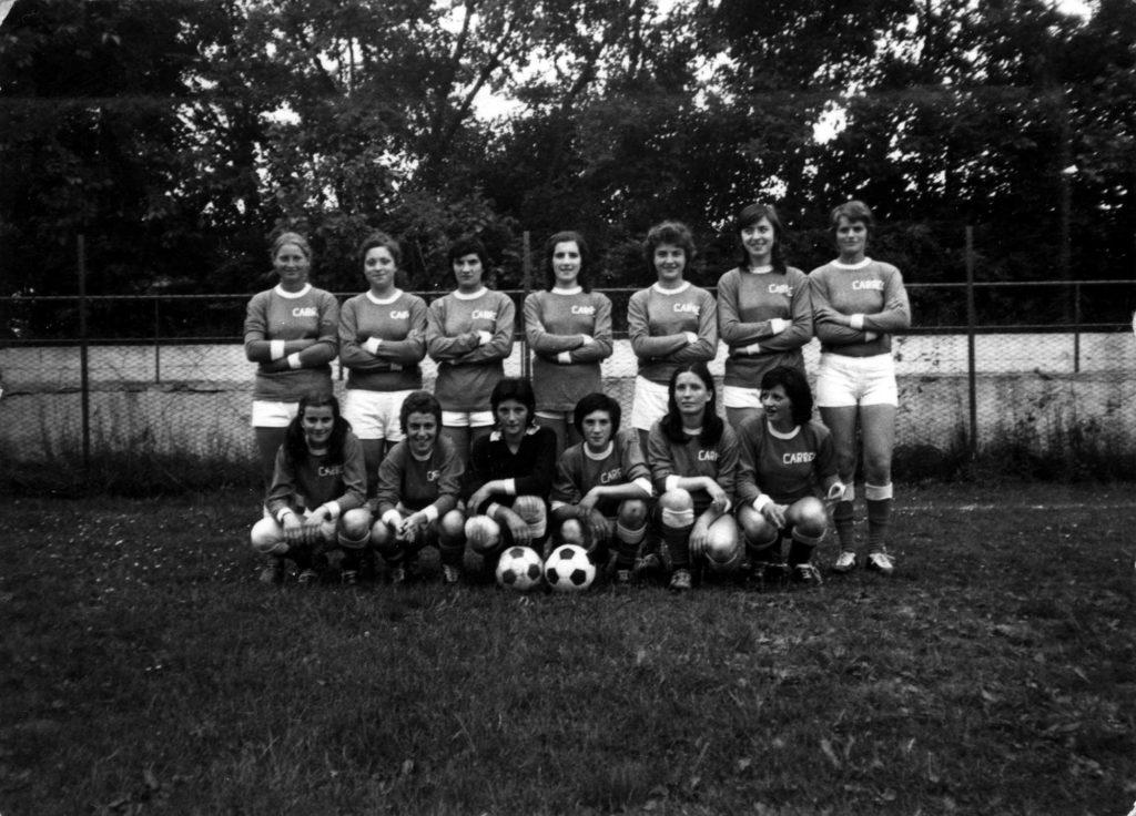 Foto Edda Quaggiotto - 1973: ACF Crocetta del Montello