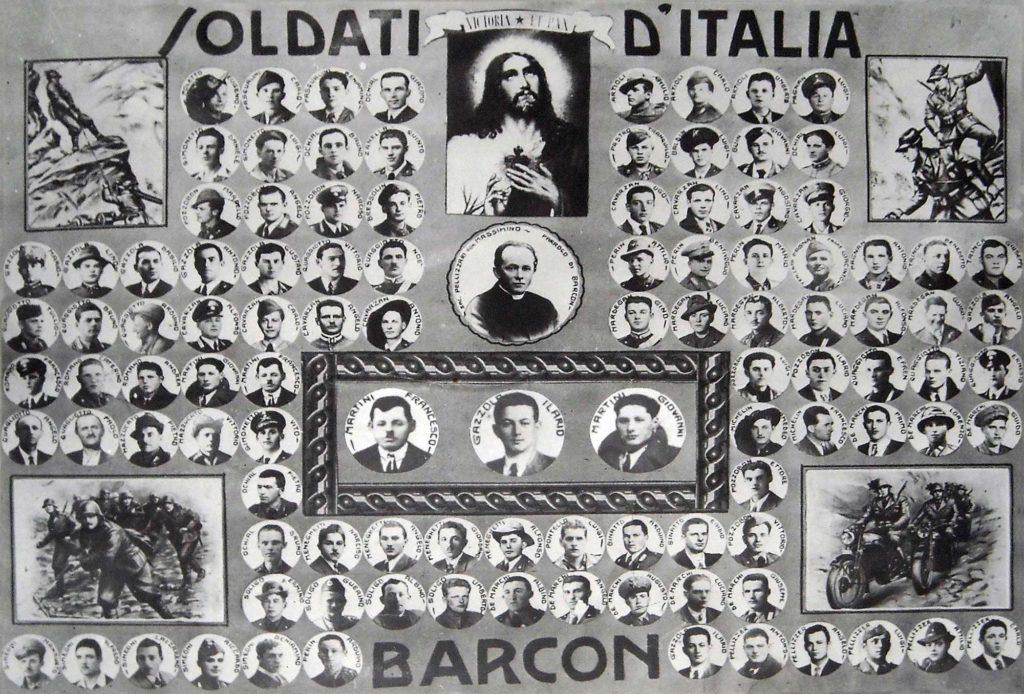 Foto Egidio Martini - Soldati D'Italia: in memoria dei caduti di Barcon nelle guerre mondiali