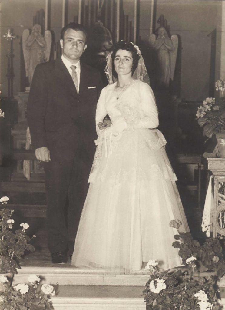 Foto Egidio Martini - 27-08-1960: matrimonio a Barcon