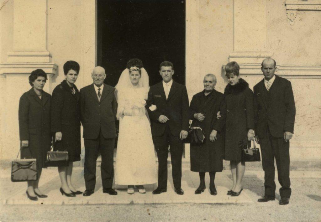 Foto Egidio Martini - 9-11-1963: matrimonio a Barcon