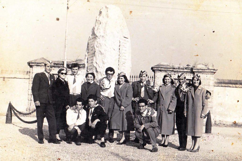 Foto Enrico Soligo - I coscritti della classe del 1939