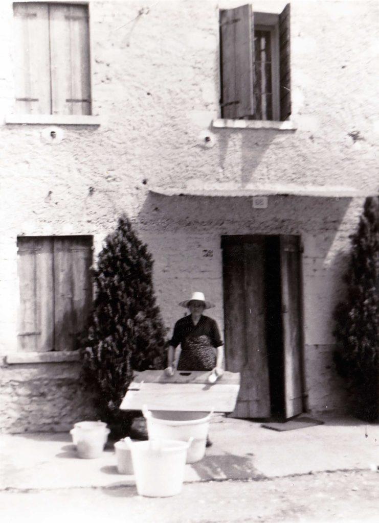 Foto Enrico Soligo - Anni 60: il bucato
