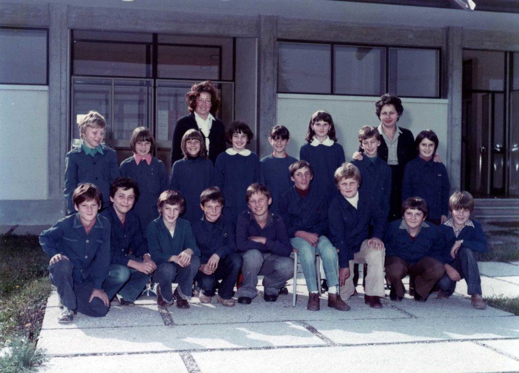 Foto Felice Trinca - La classe 1969 in quinta elementare
