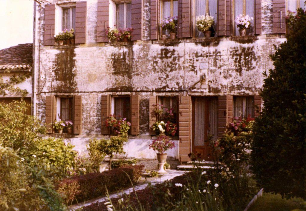 Foto Felice Trinca - Giugno 1972: la canonica