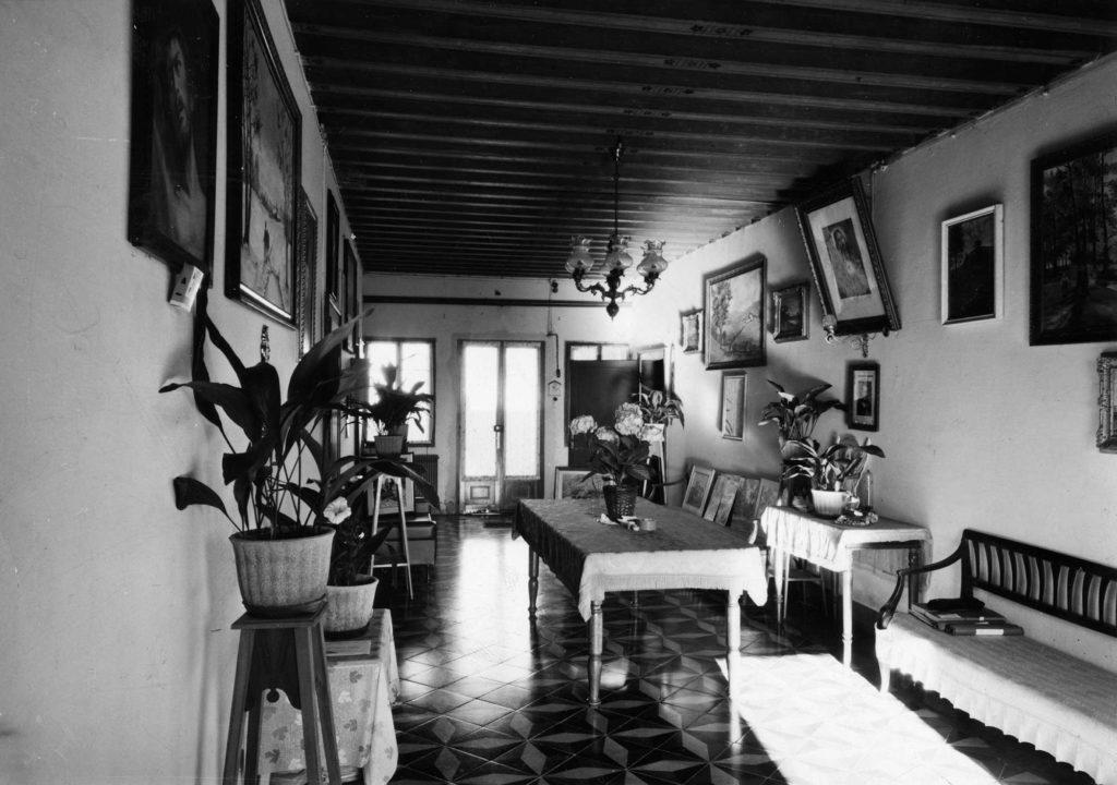 Foto Felice Trinca - 15 gennaio 1973: sala Canonica Barcon