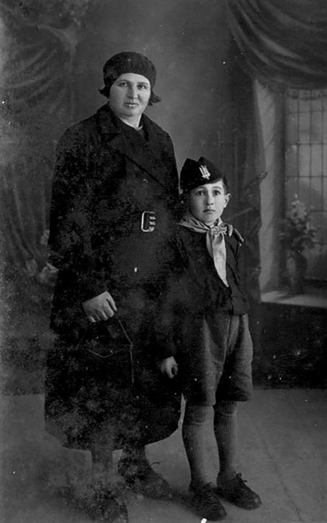 Foto Gabriele Omega - 1937/38: il piccolo balilla