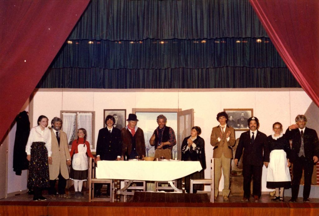 Foto Gino Quaggiotto - Gruppo teatrale 'I Diavoli' di Barcon