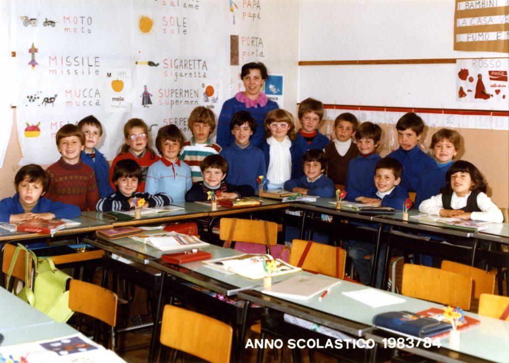 Foto Gino Quaggiotto - Classe del 1977 in prima elementare, anno scolastico 1983/84