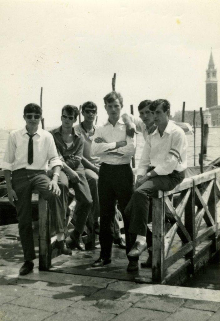 Foto Gino Quaggiotto - I ragazzi della classe del 1948 a Venezia