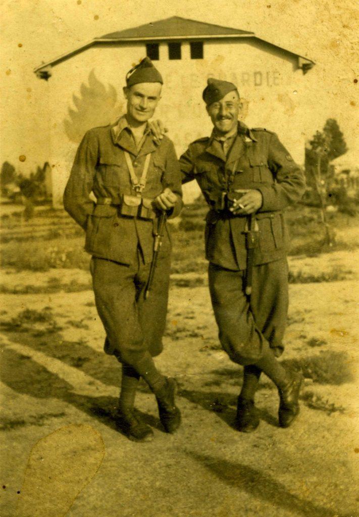 Foto Gino Quaggiotto - 1942: Efrem Quaggiotto prigioniero in Albania