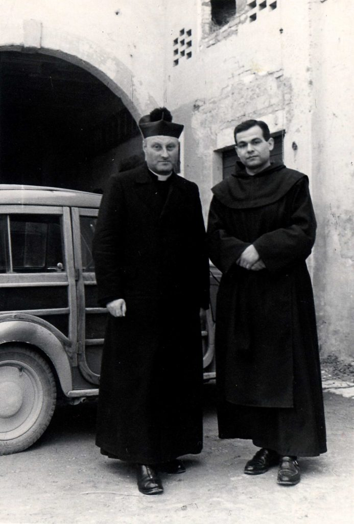 Foto Ida Trinca - Don Alberto Miatello e padre Cristoforo Cavarzan
