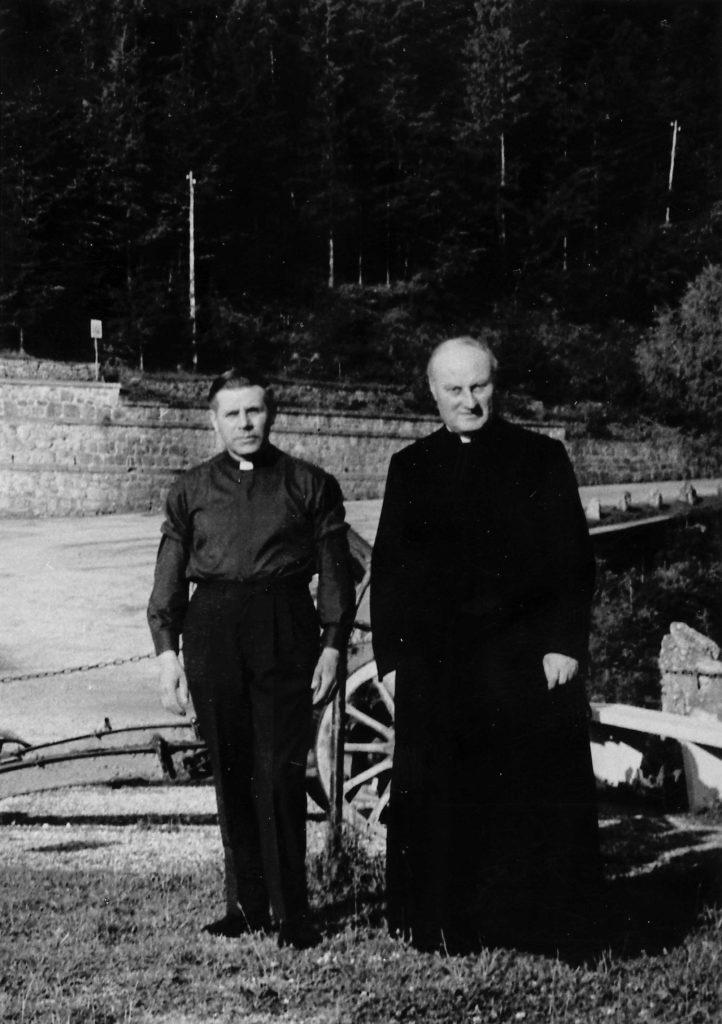 Foto Ida Trinca - Padre Francesco Mazzocato e don Alberto Miatello