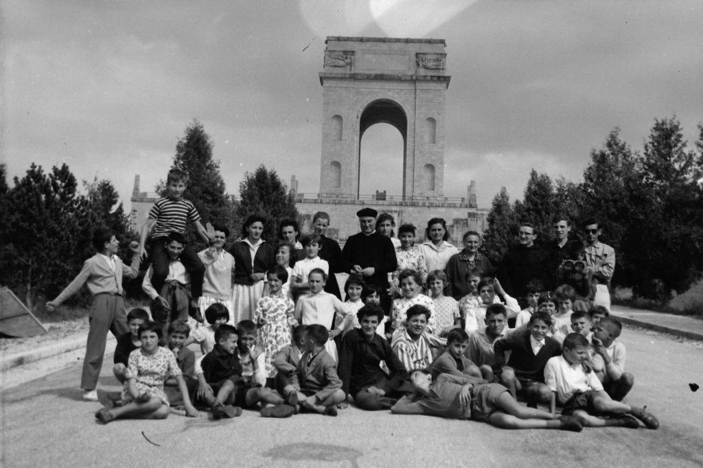 Foto Ida Trinca - Gita ad Asiago: l'ossario in memoria dei caduti