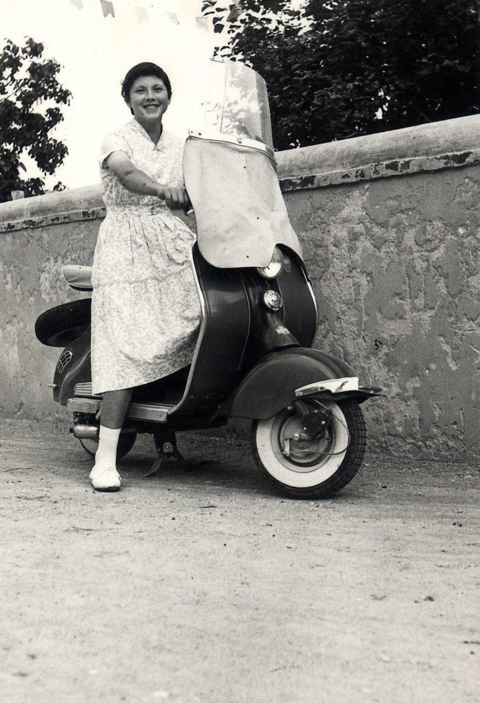 Foto Ida Trinca - La Vespa Piaggio: mezzo di trasporto e status symbol