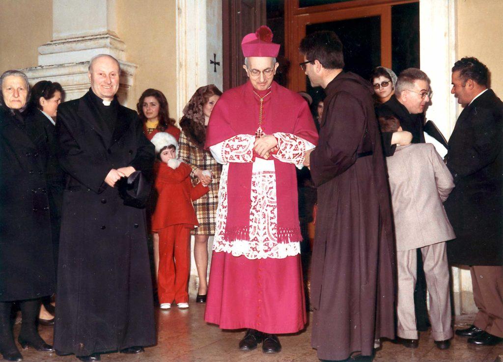 Foto Ida Trinca - Il Vescovo Antonio Mistrorigo