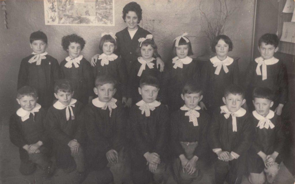Foto Famiglia Mardegan-Piccolo - Scuola elementare: la classe del 1954