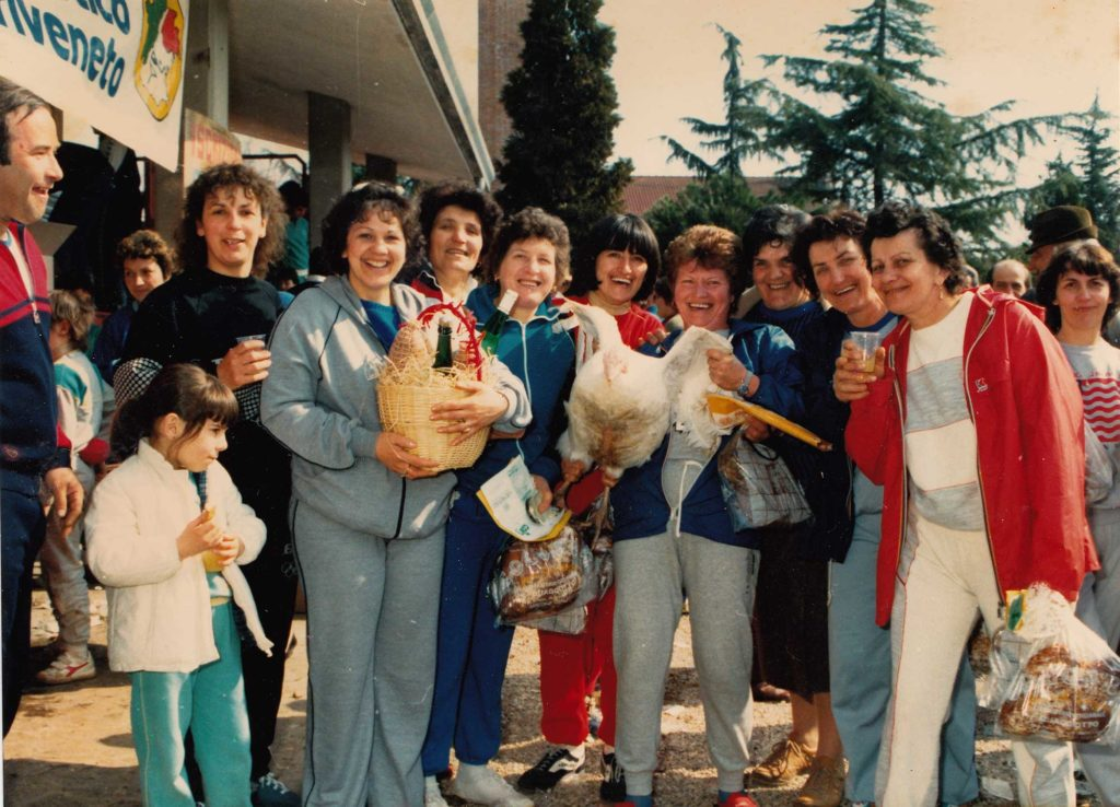Foto Famiglia Mardegan-Piccolo - Partecipanti alla corsa podistica con il tacchino,