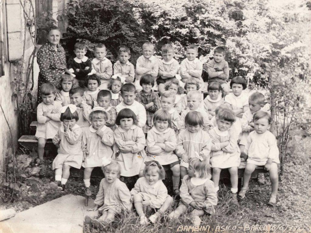 Foto Famiglia Mardegan-Piccolo - 06 giugno1961: bambini dell'asilo classi 1956, 1957, 1958 e 1959