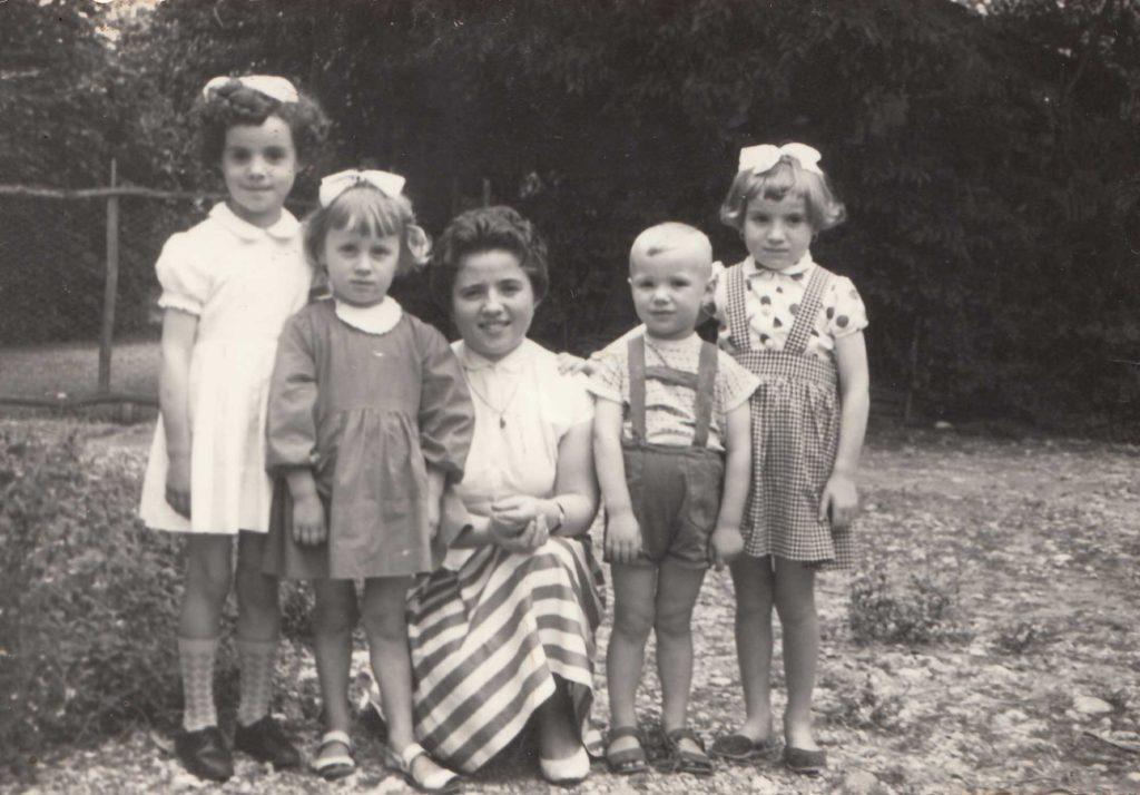 Foto Famiglia Mardegan-Piccolo - 10 luglio 1960