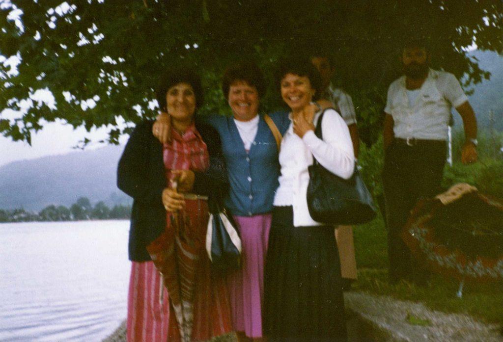 Foto Guido Mardegan - Settembre 1982: gita col coro parrocchiale