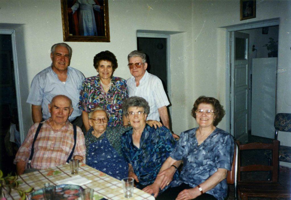 Foto Guido Mardegan - 1996: visita ai parenti in Argentina