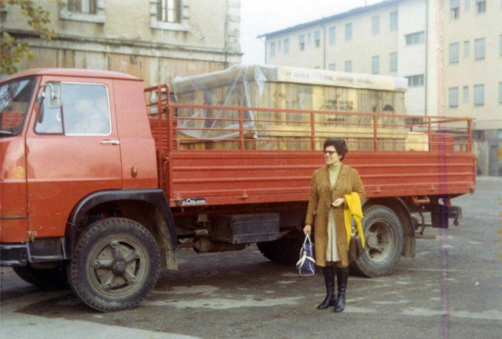 Foto Guido Mardegan - Gennaio 1971