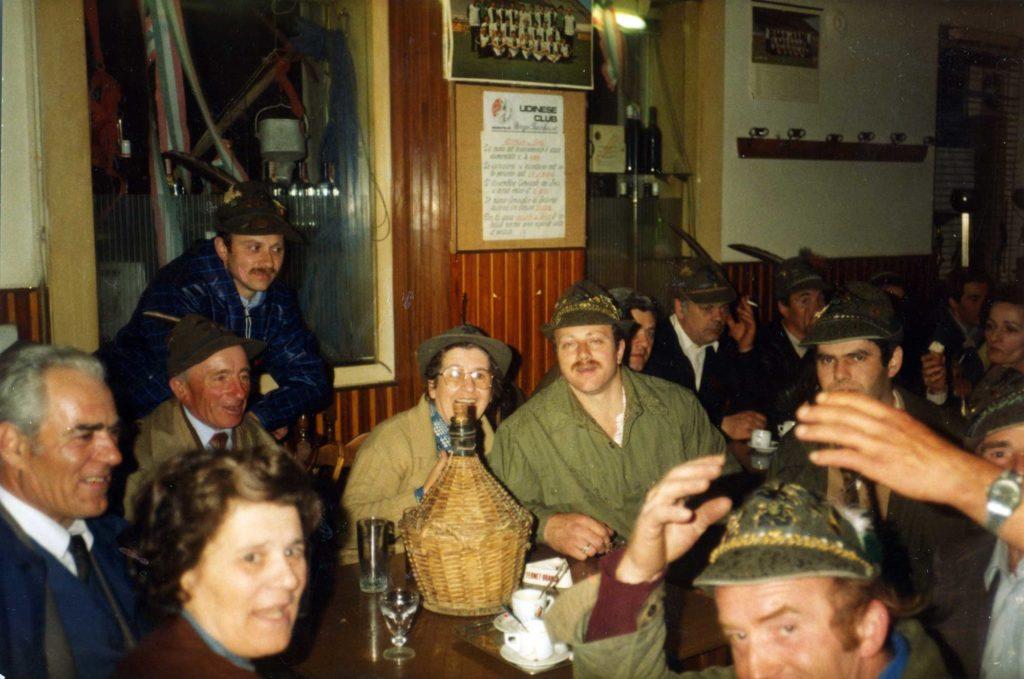 Foto Guido Mardegan - Adunata Alpini Udine 5 - 6 maggio 1983