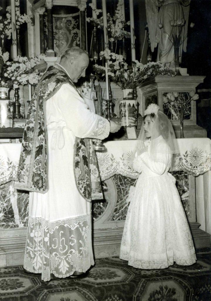 Foto Guido Mardegan - 5 maggio 1967 - La prima Comunione