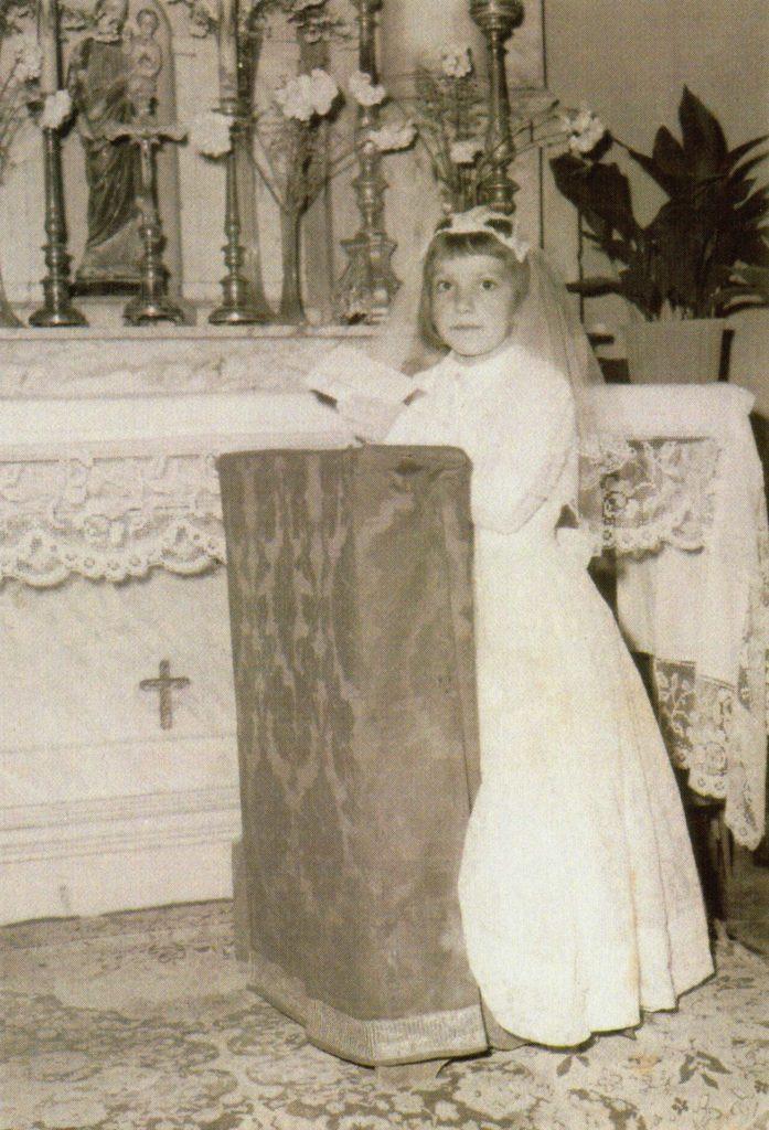 Foto Guido Mardegan - 1958: la prima comunione