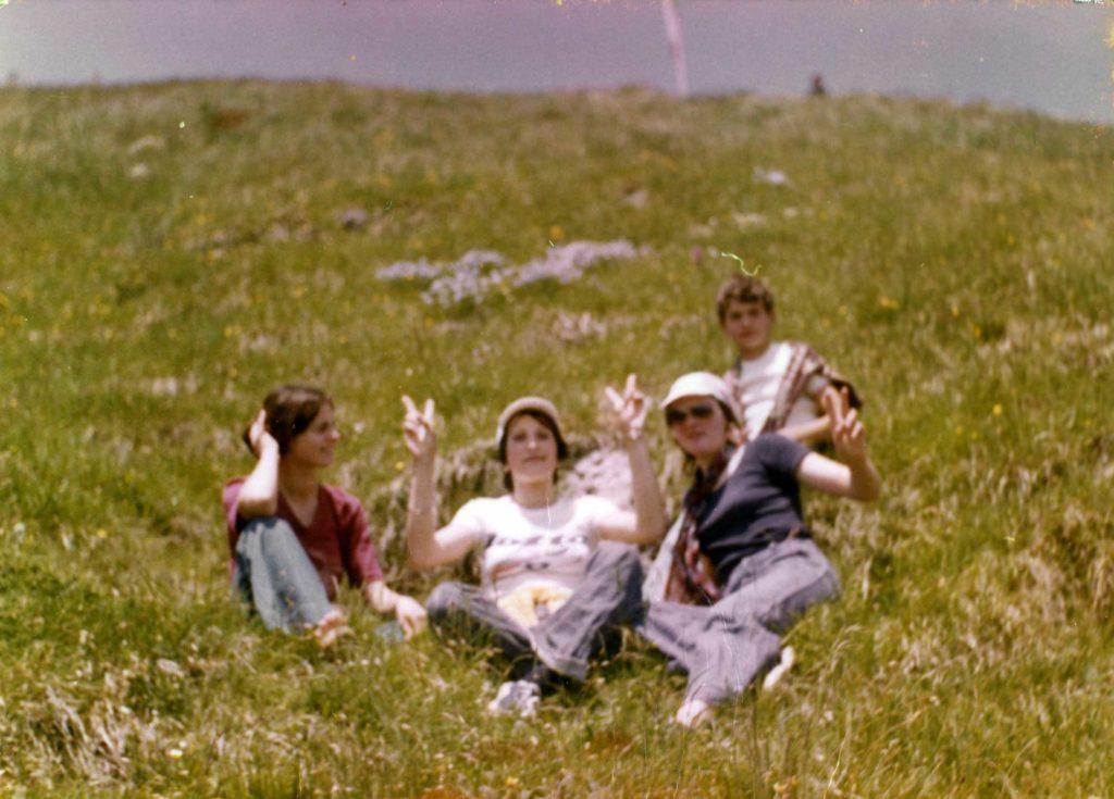 Foto Guido Mardegan - 1976: gita sul monte Grappa
