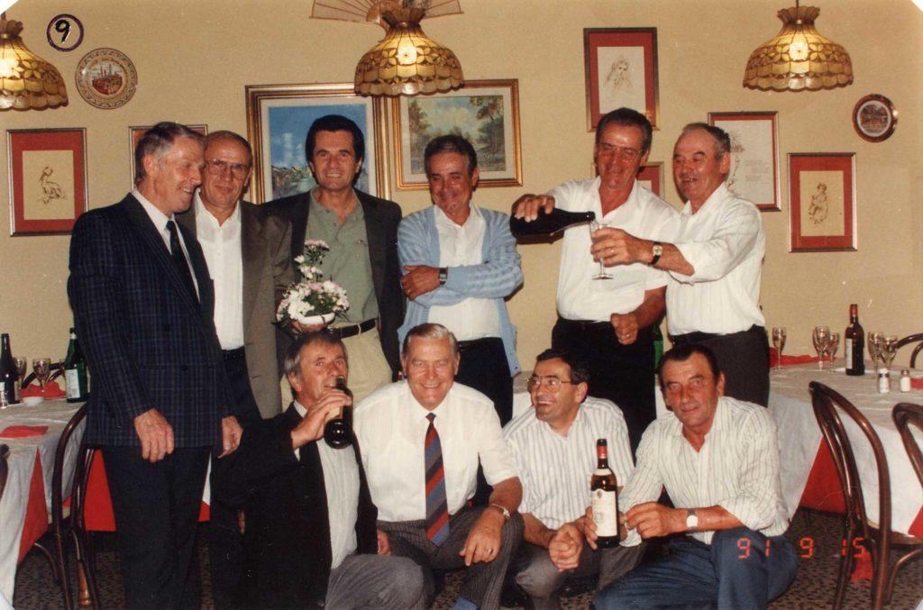 Foto Mario Soligo - Classe del 1936: la festa del 1991